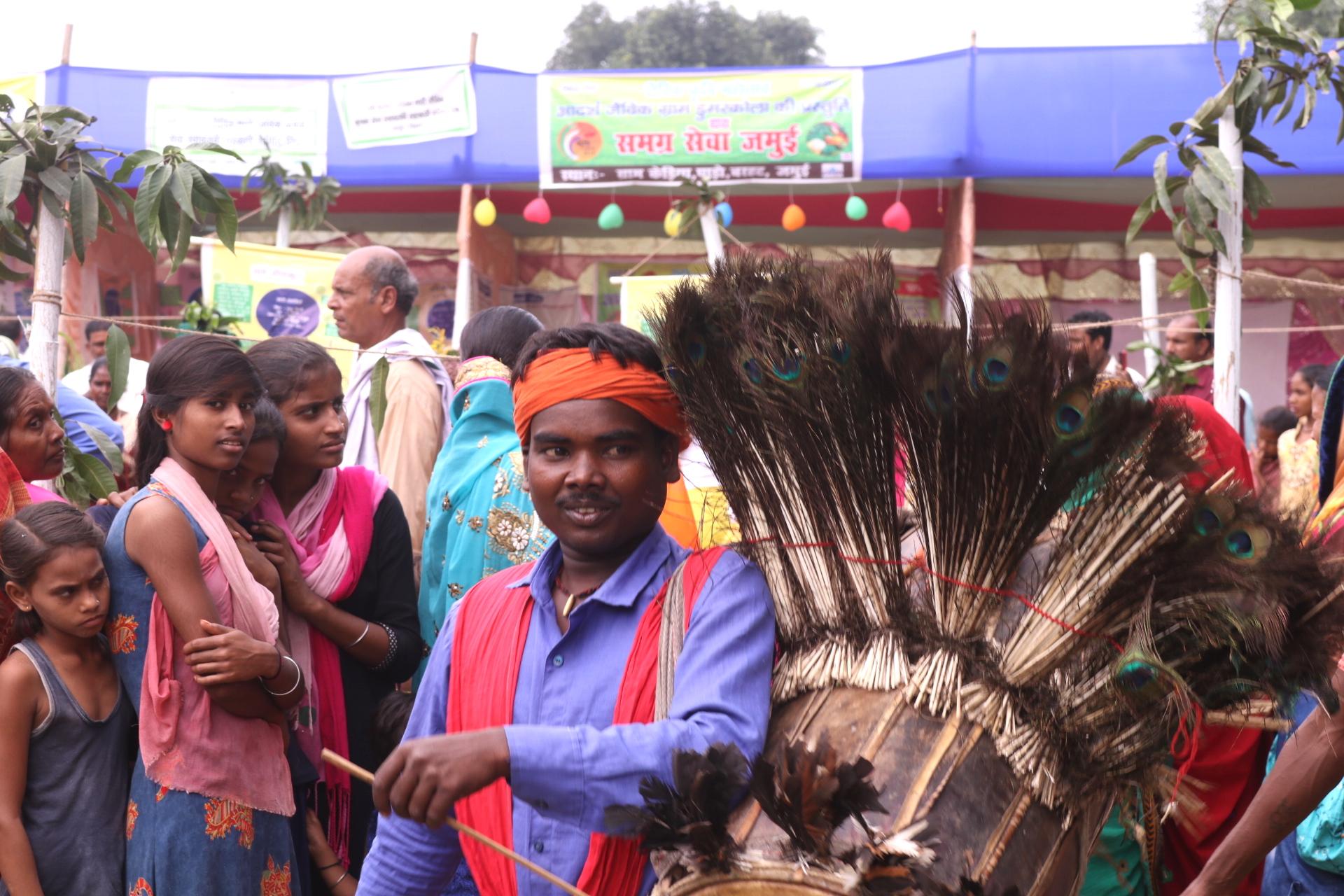 'Jasn-a-jaivik' was organised in Kedia village of Bihar to celebrate organic farming
