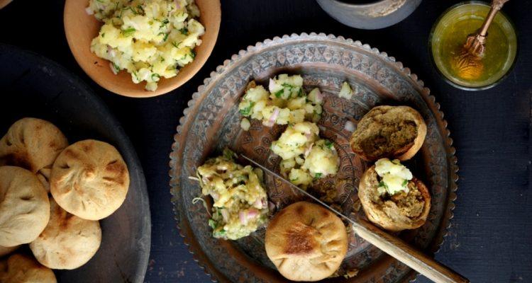 Sattu, Litti Chokha, Bihari Litti-Chokha