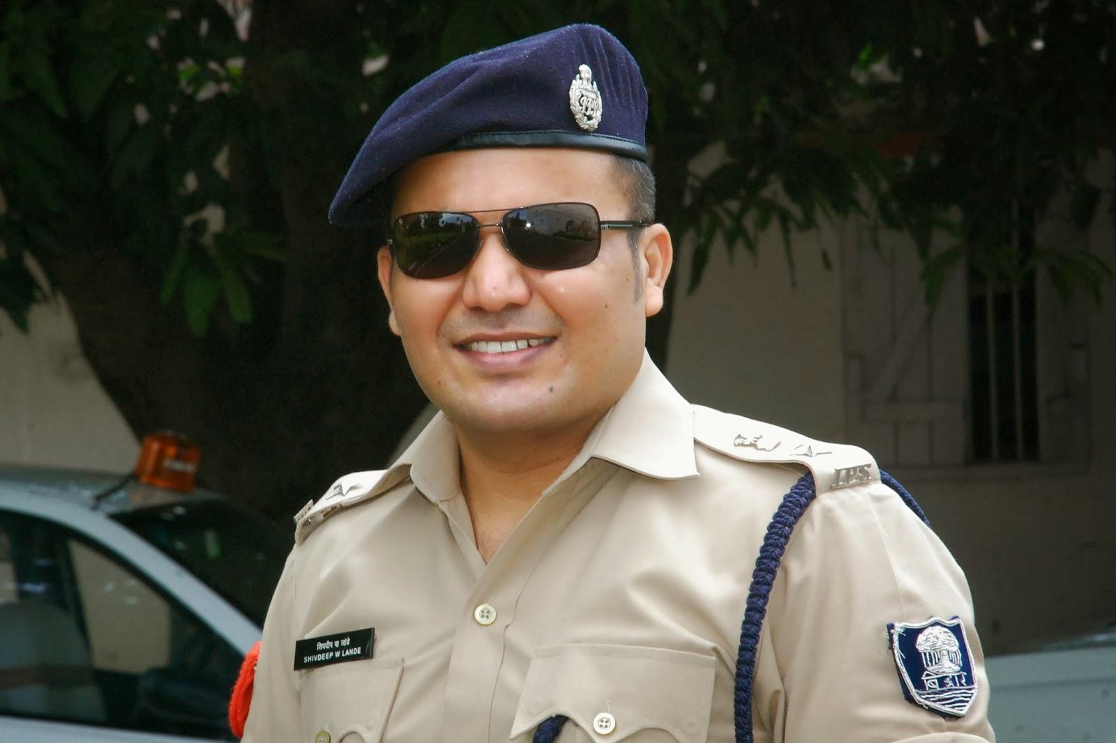 Shivdeep Waman Lande: Dabangg Super Cop