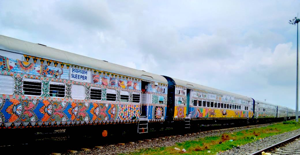 Trains of Japan and Canada to be decorated with Bihar's iconic Mithila Painting