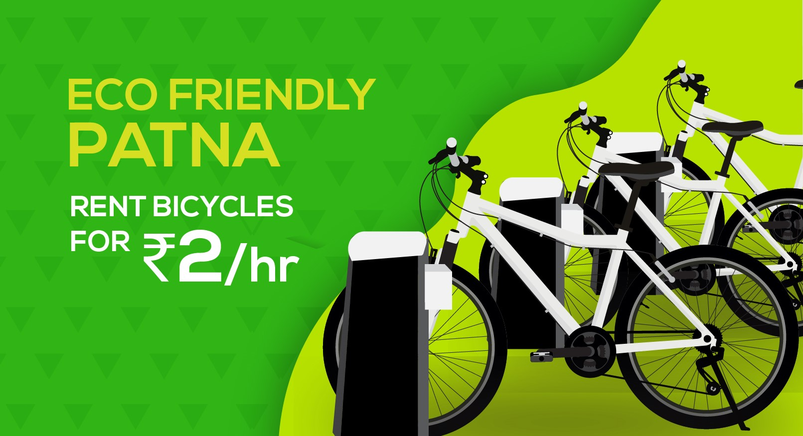 To make Patna eco-friendly soon Patnaites can rent cycles for just ₹2 per hour