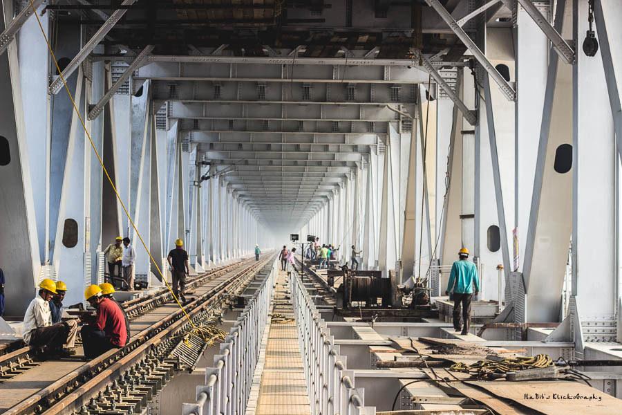 Ganga Bridge | Bridging the gaps of prosperity, economic development & personal relations!