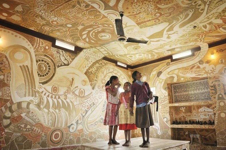 D Floor Paintings In Houses