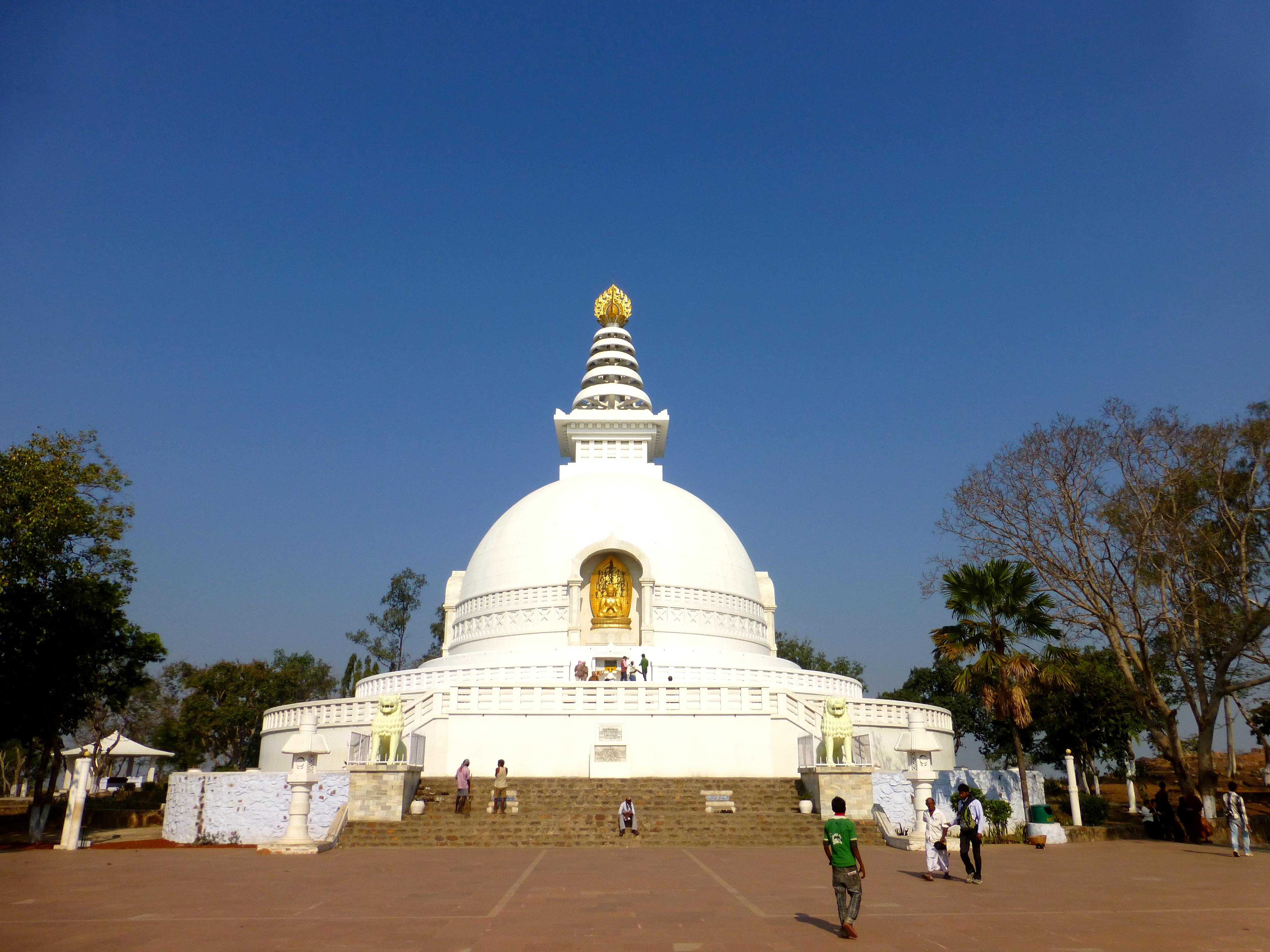 045 Shanti Stupa at Rajgir