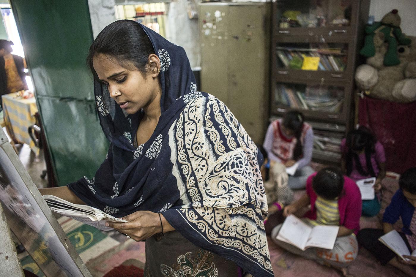 When Tatahir Fatima, a school teacher from Bihar didn't miss work even on the day of her Nikah!