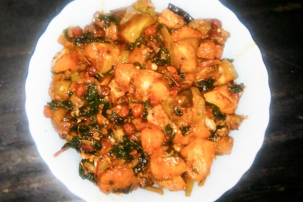 The Very Delicious Bihari Chakka Bhaji!