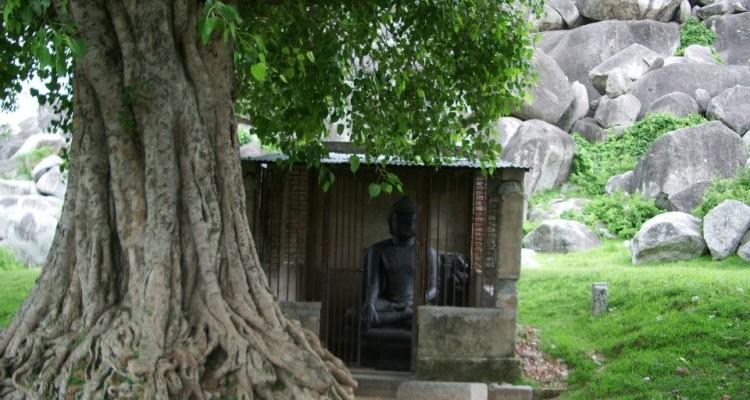 The meditating Buddha at Kauwa Dol