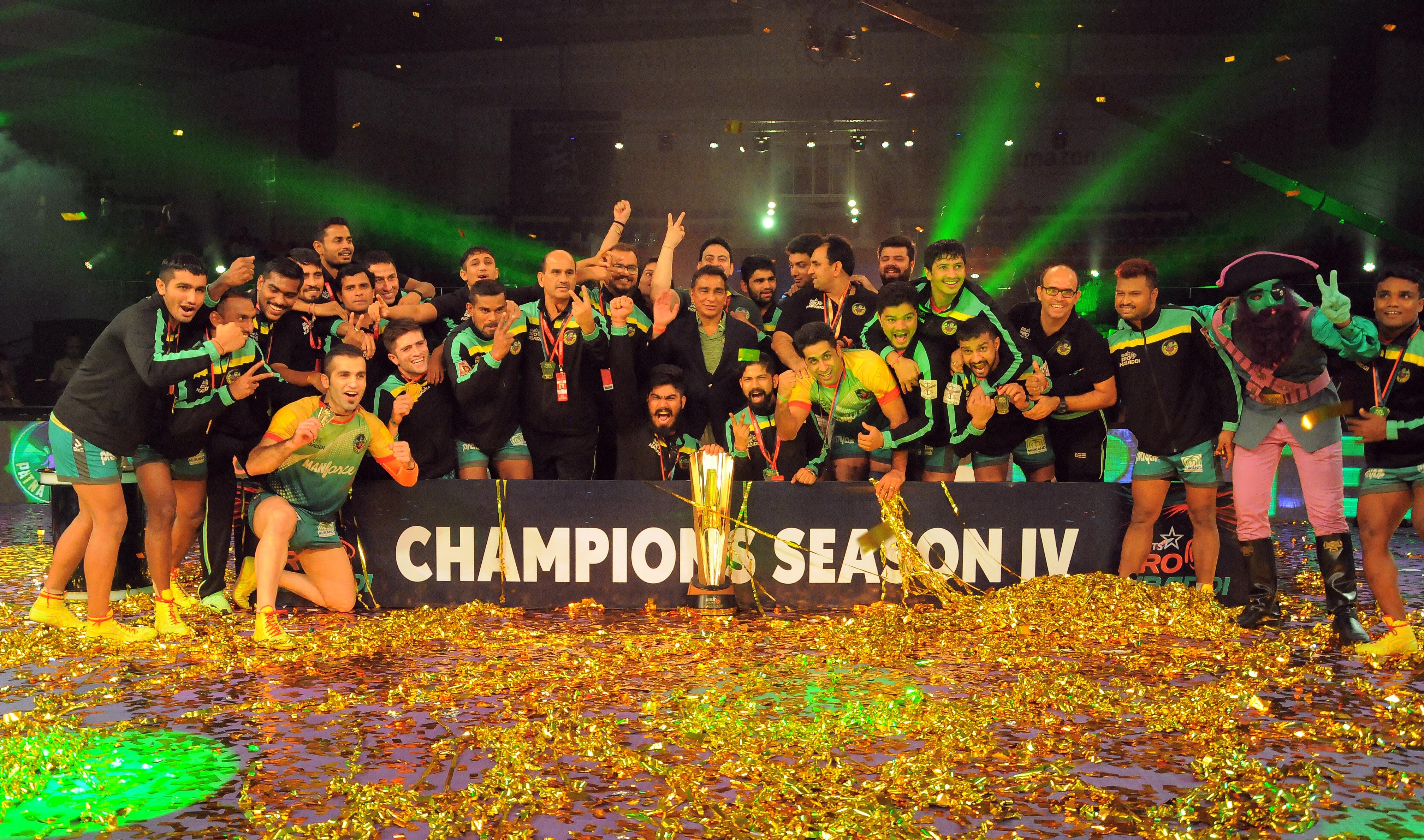 Patna Pirates crowned Season 4 Champions of Star Sports Pro Kabaddi