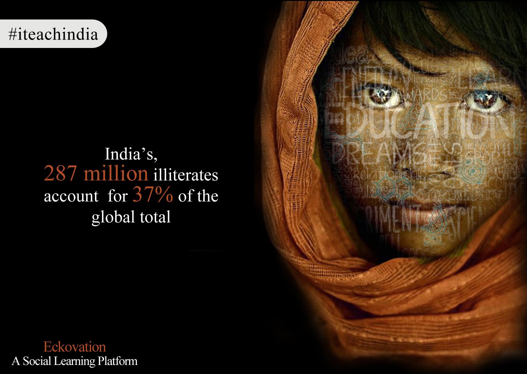 #ITeachIndia
