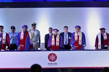 convocation of Nalanda University