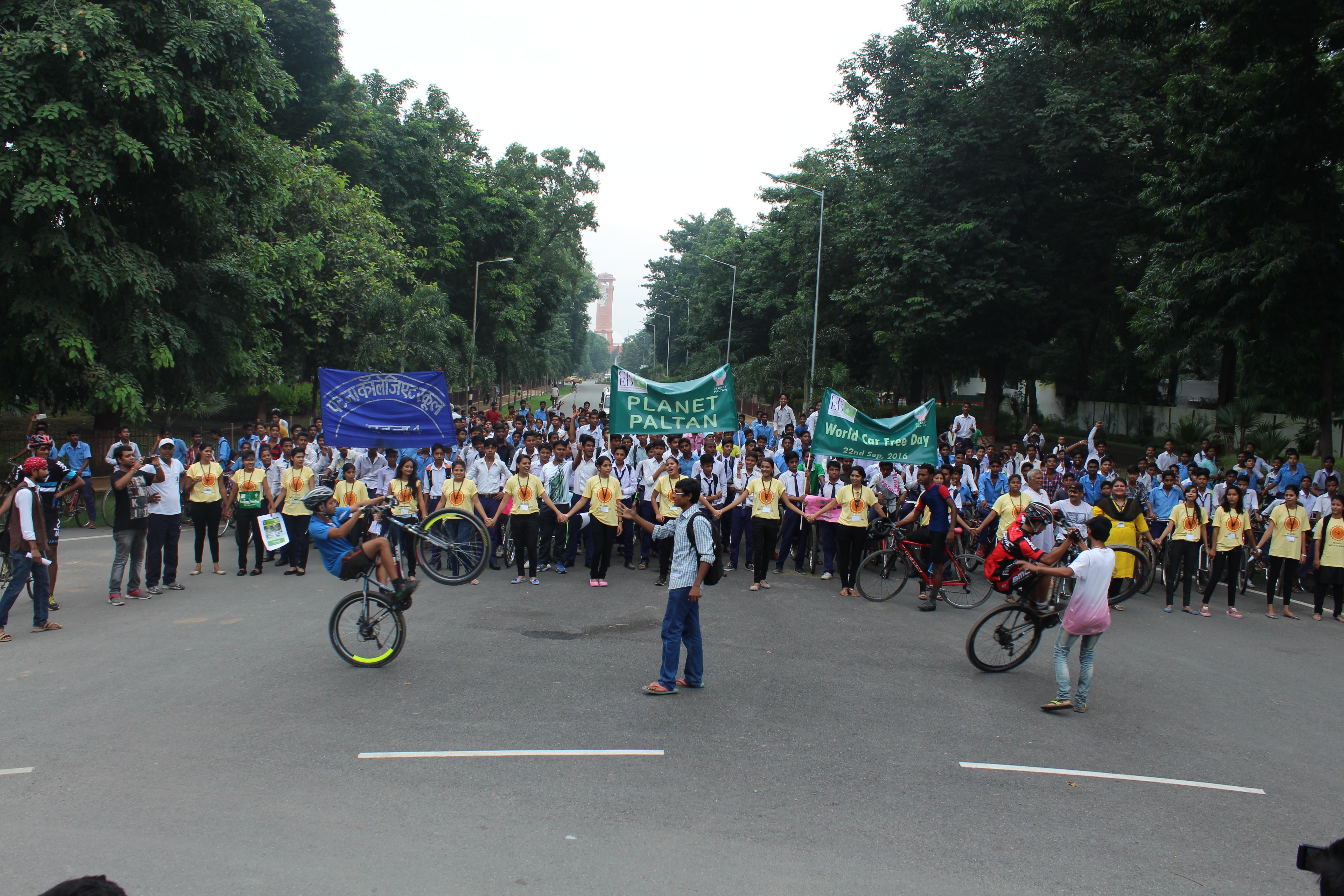 Patna, world car free day, Bihar, Patna News, CEED