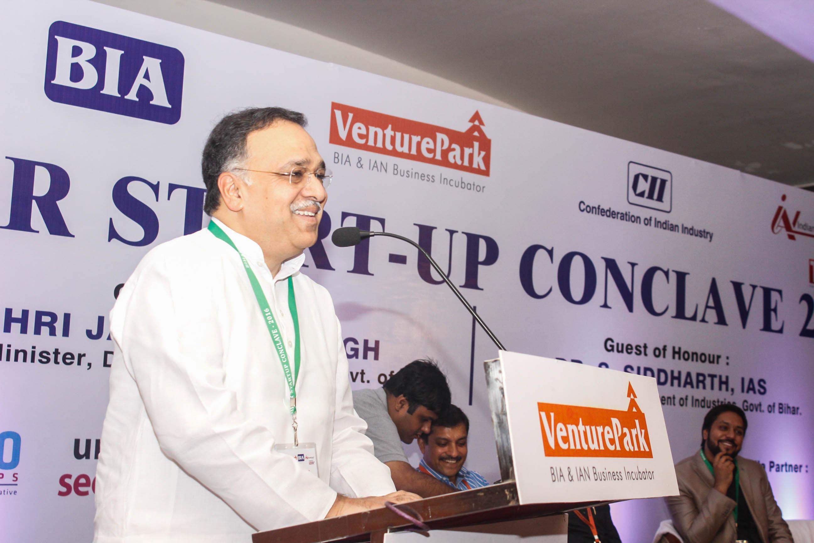 Bihar Start-up conclave, Mr Pramath Raj Sinha