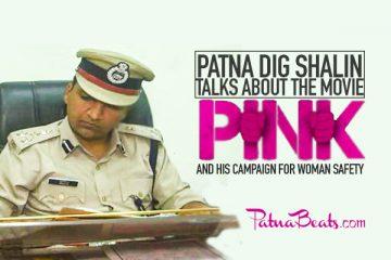 DIG Shalin, PATNA, Pink