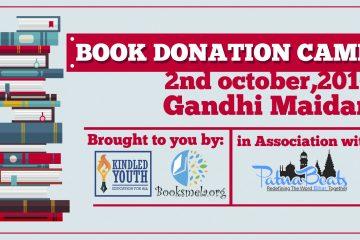 Book Donation, Gandhi Jayanti, Gandhi Maidan, Patna