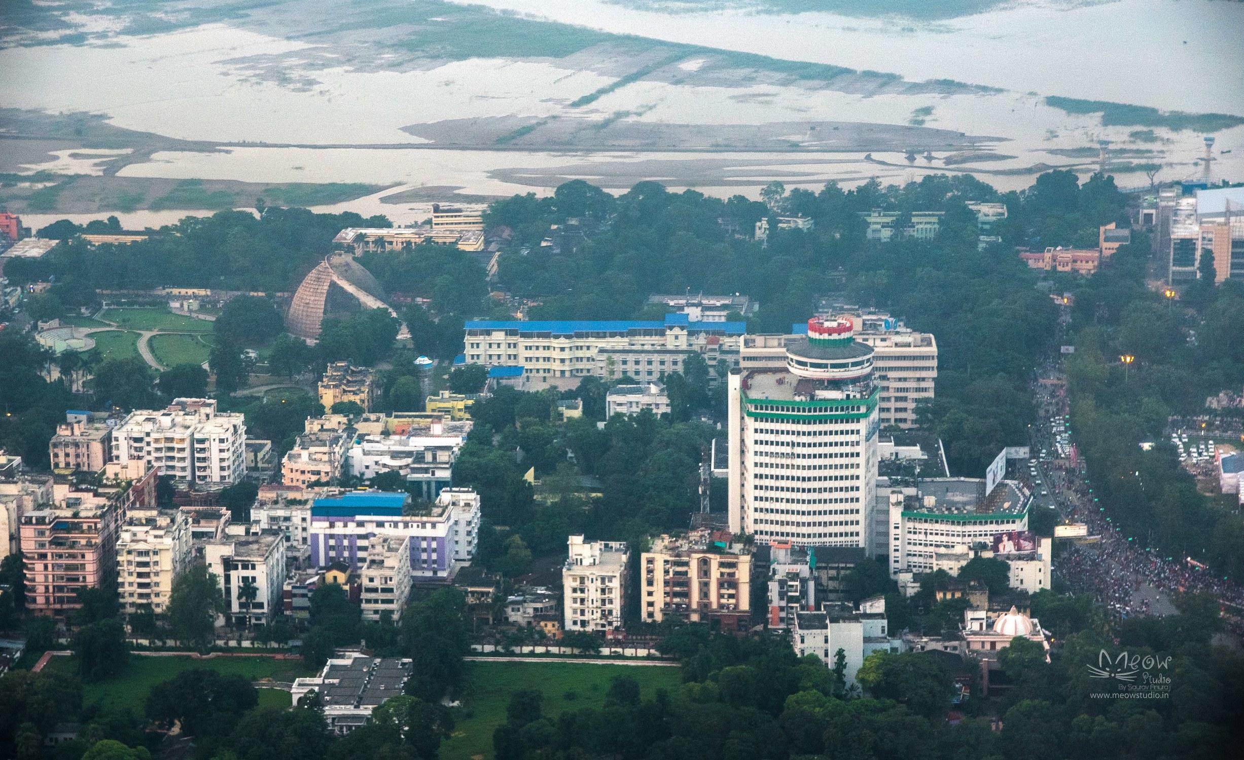 Photos from the Sky | Bird's Eye View of Patna by Saurav Anuraj