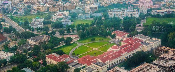 Bird's Eye View of Patna