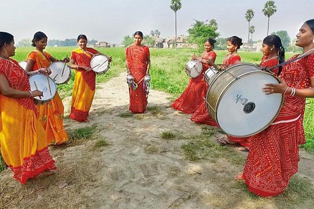 women-drums