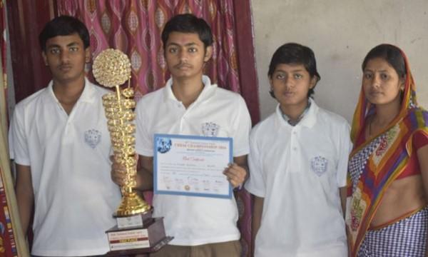 Kumar Gaurav and Saurabh Anand, chess, Bihar