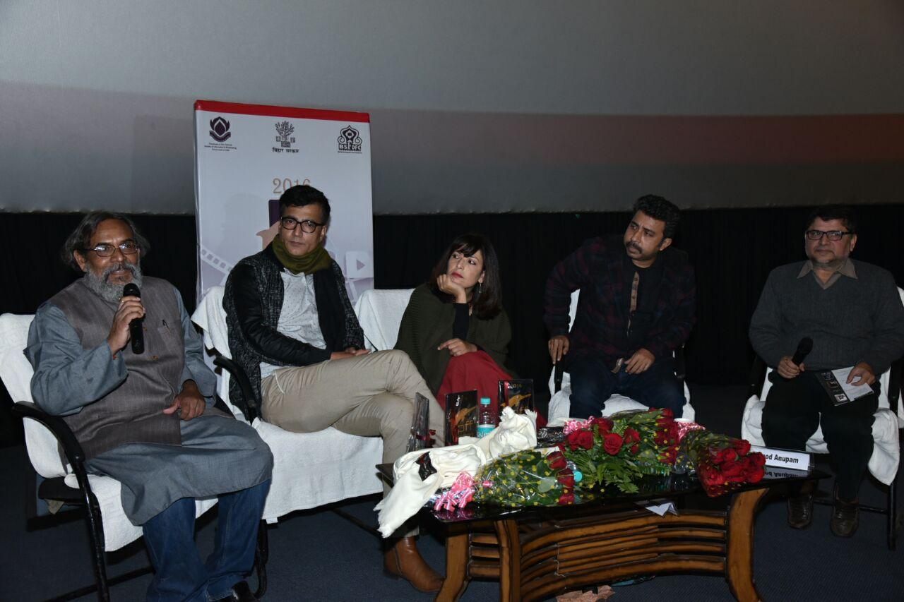 नरेंद्र झा, पटना फिल्म फेस्टिवल 2016