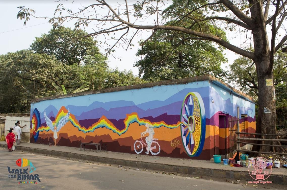Patna Is Painting Walls For Good via 'Walk For Bihar'