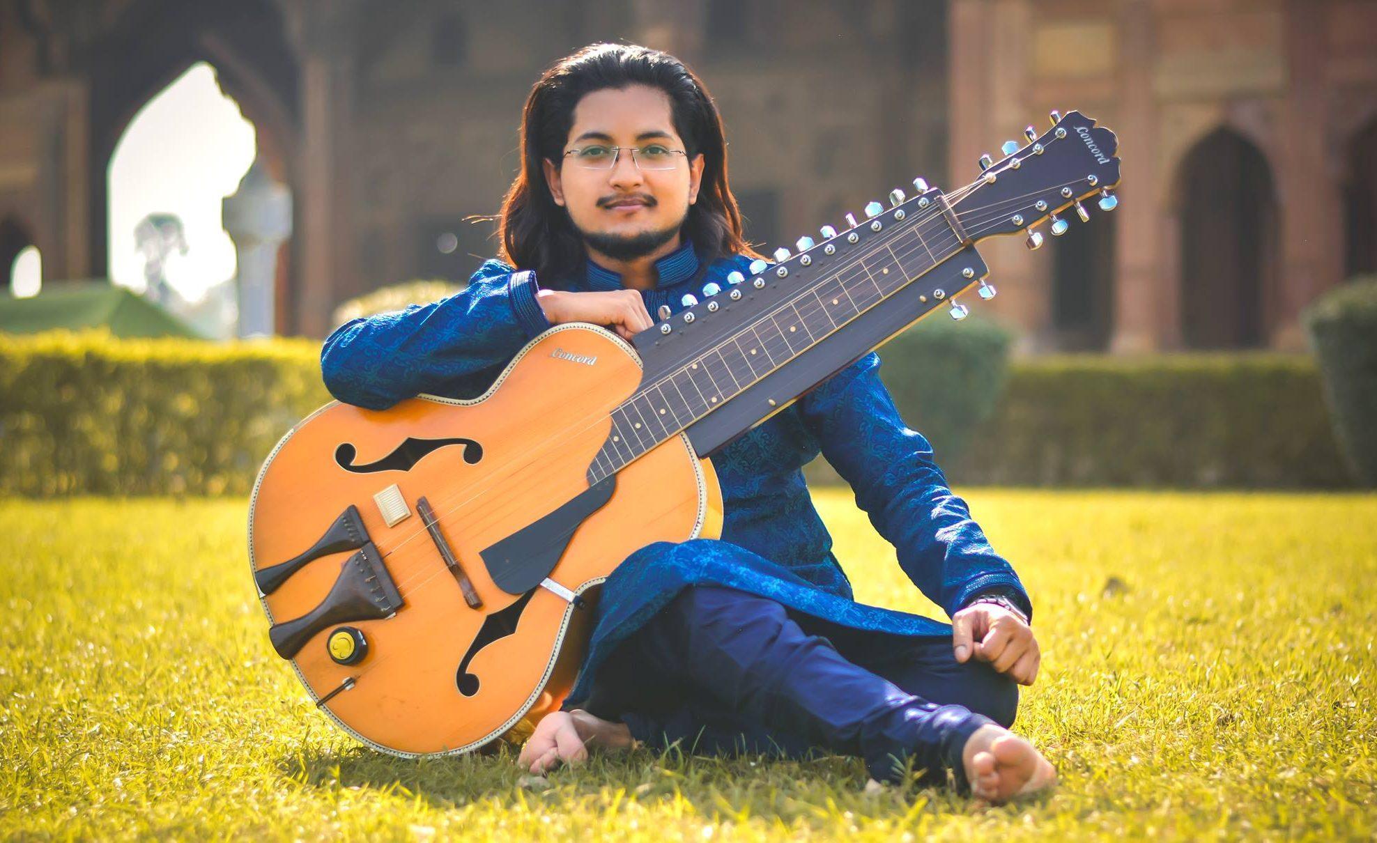 Patna's lad Amritanshu Dutta rocking the nation through his musical escapade on the sets of 'Dil hai Hindustani'