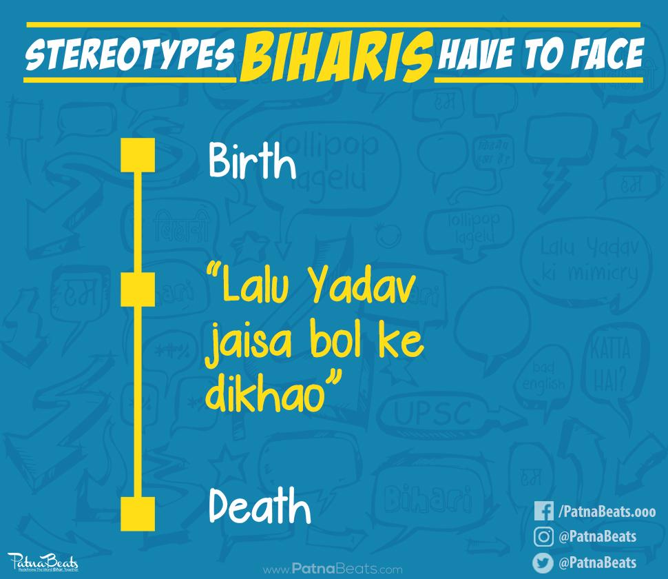 Image result for stereotype on bihar