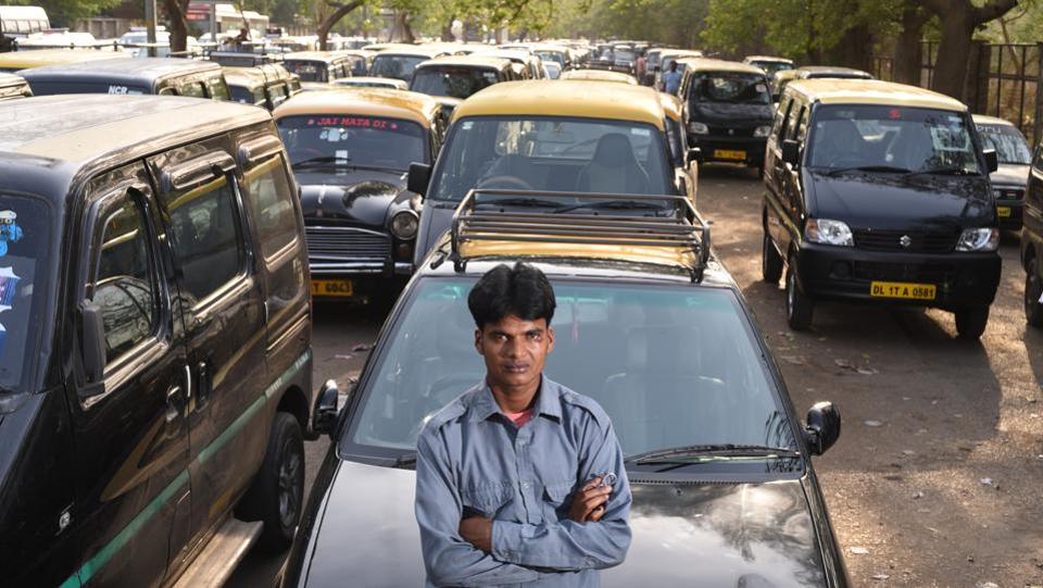 Bihari taxi driver