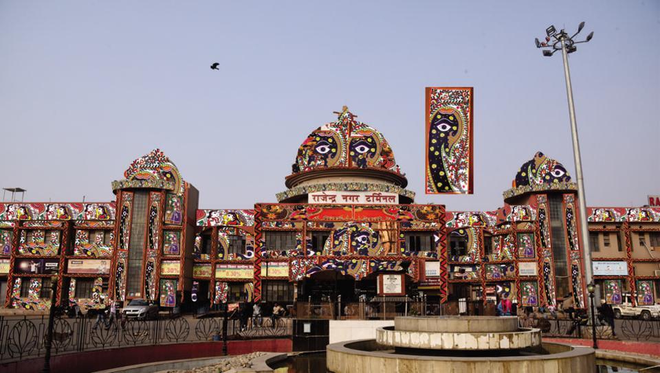 Rajendra Nagar Terminal in Patna to get a makeover with Tikuli art