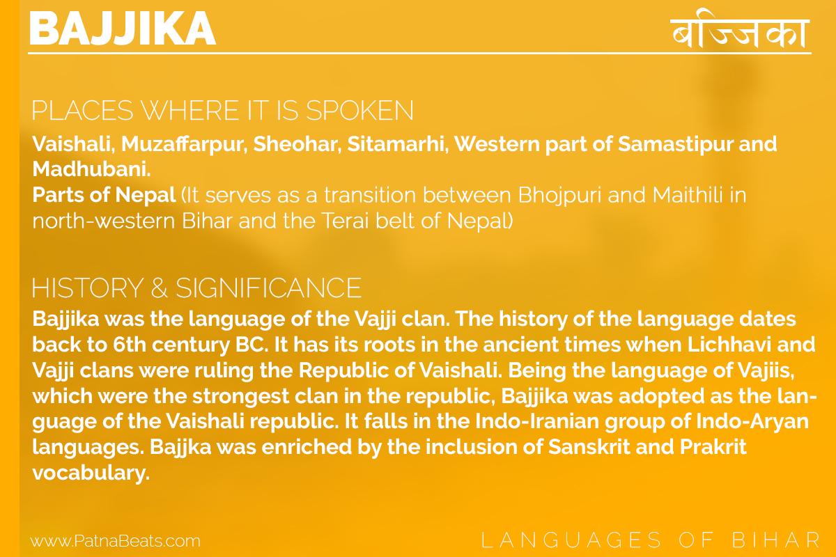 bajjika language