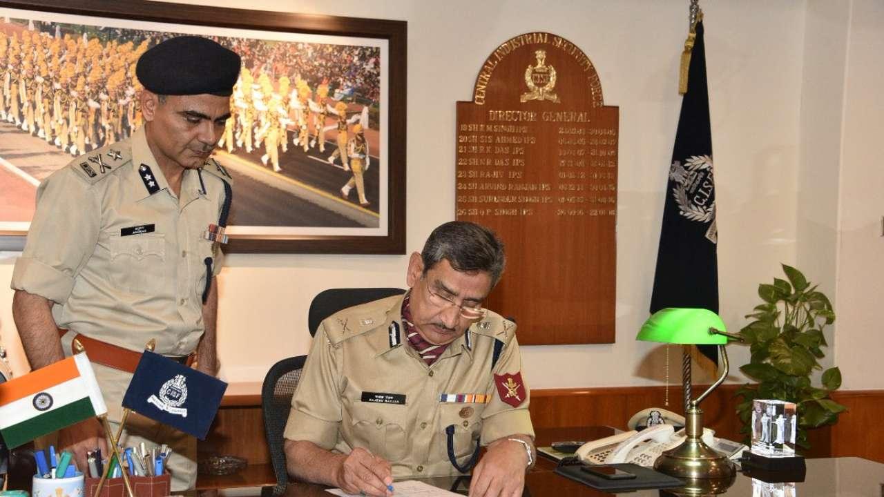 Bihar cadre IPS officer Rajesh Ranjan takes over as CISF DG