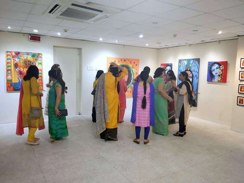 Biharins, an exhibition celebrating the women artists of Bihar
