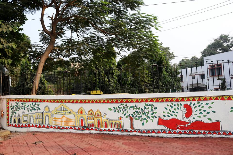 City of Patna Pmc, PatnaBeats, Madhubani Painting