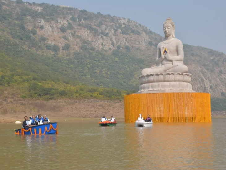 India's one of the tallest statue of Buddha inaugurated in Rajgir