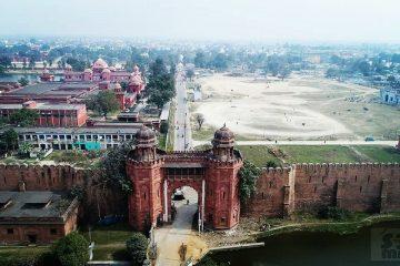 darbhanga fort