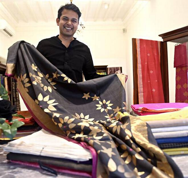 Nalanda's Bawan Buti Sarees to represent India in UN