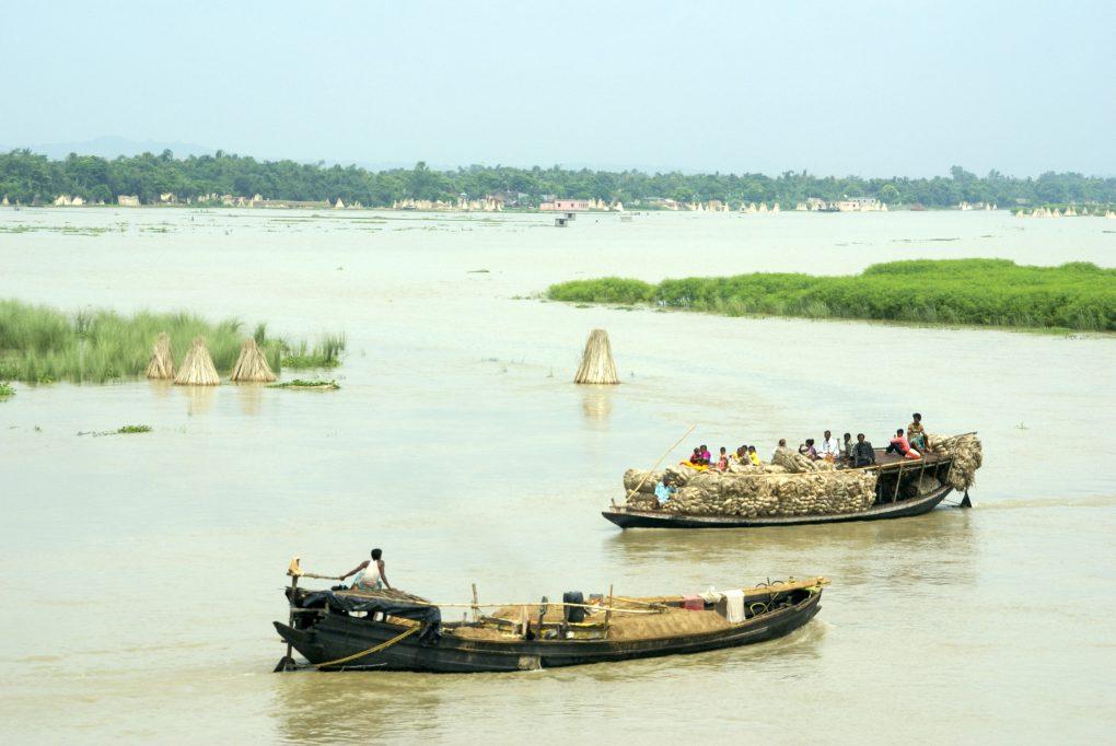 Flood Bihar, ISRO