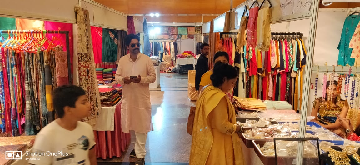 The mix of Indian culture at first day of Zarin Lifestyle Exhibition