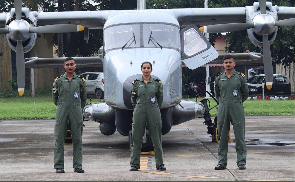 Lieutenant Shivangi from Muzaffarpur becomes the first woman pilot of Indian Navy