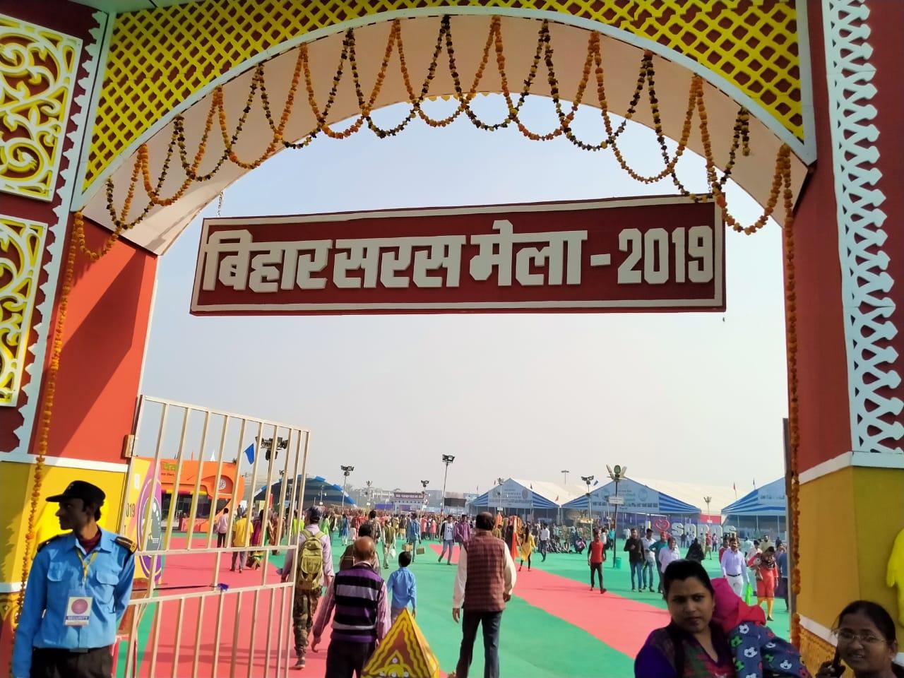 The 15 days fair at Gandhi Maidan, a boon to Bihar Handicrafts