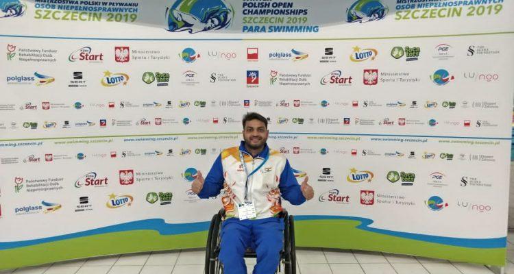 Para swimmer, Md. Shams Aalam, Bihar, Patna