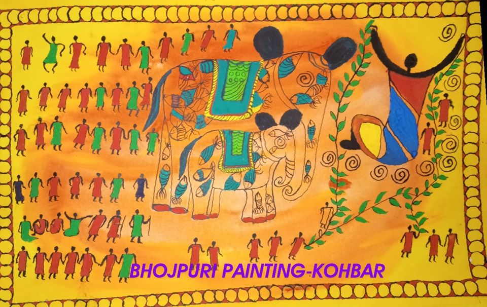 Revival of Bhojpuri Paintings: Revisiting the rich glory of our Culture.