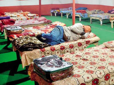 temporary shelter in Patna