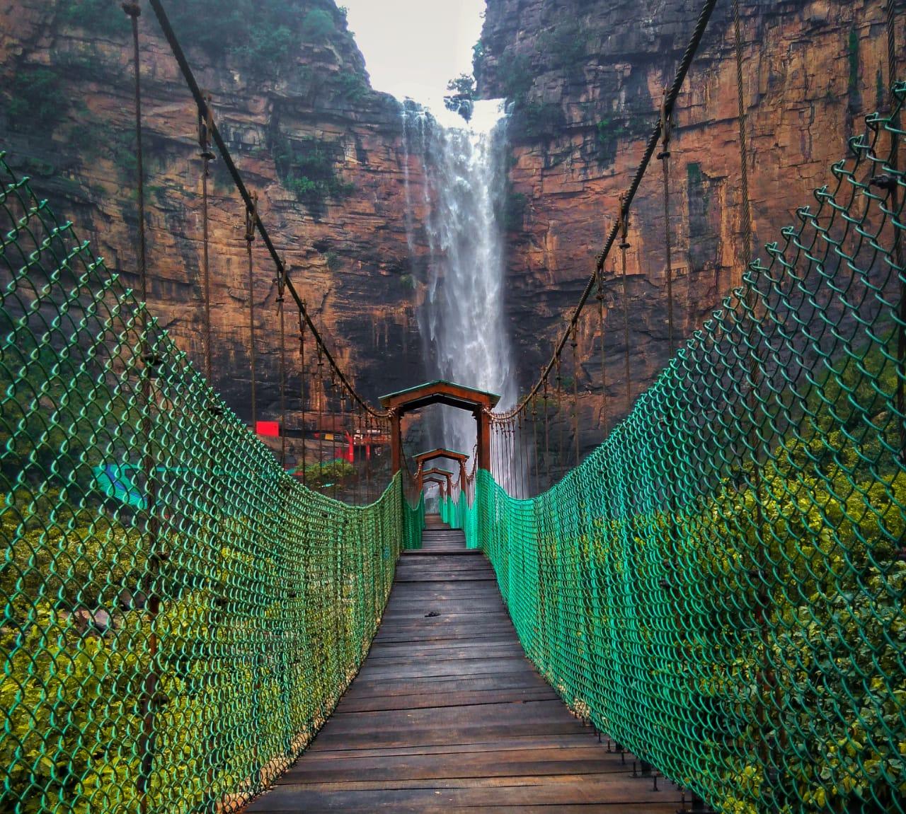 Explored waterfalls in Bihar