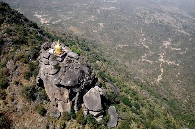 Gurpa hill: The mountain where Mahakasyapa waits for Maitreya
