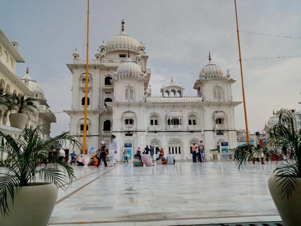 Takht Sri Patna Sahib, the birthplace of the tenth Sikh guru.