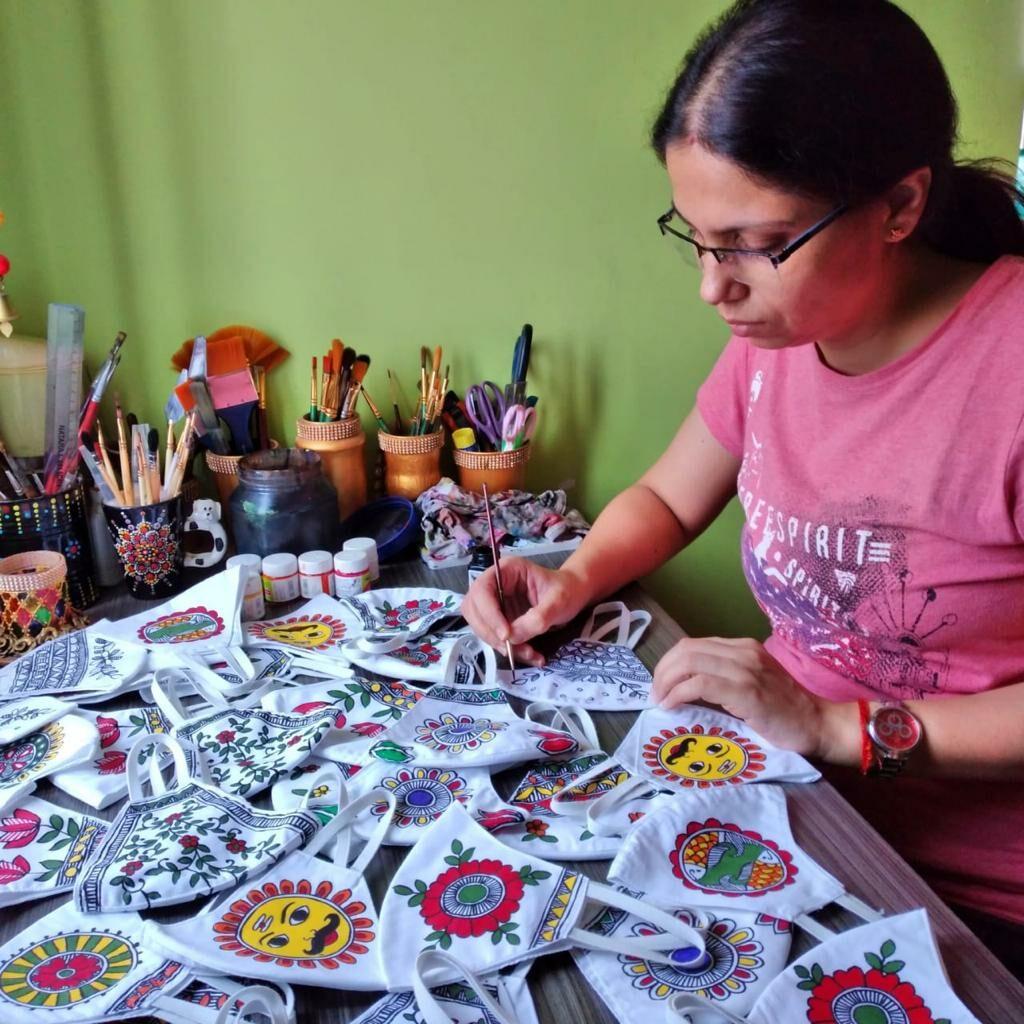 Artist Vinita Rai